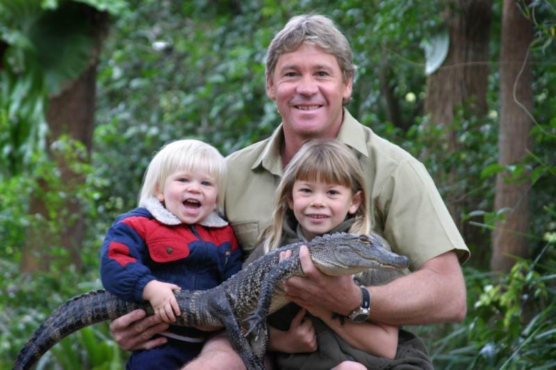 Steve Irwin Bindi Irwin Robert Irwin