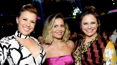 Jodie Sweetin, Candace Cameron Bure, and Andrea Barber