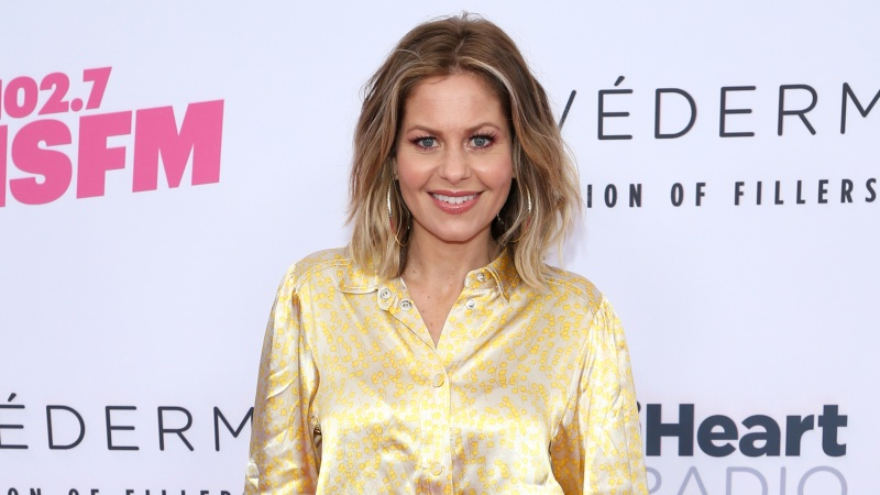 Candace Cameron Bure Shows Off Fit Figure In Workout Video