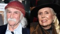 David Crosby and Joni Mitchell