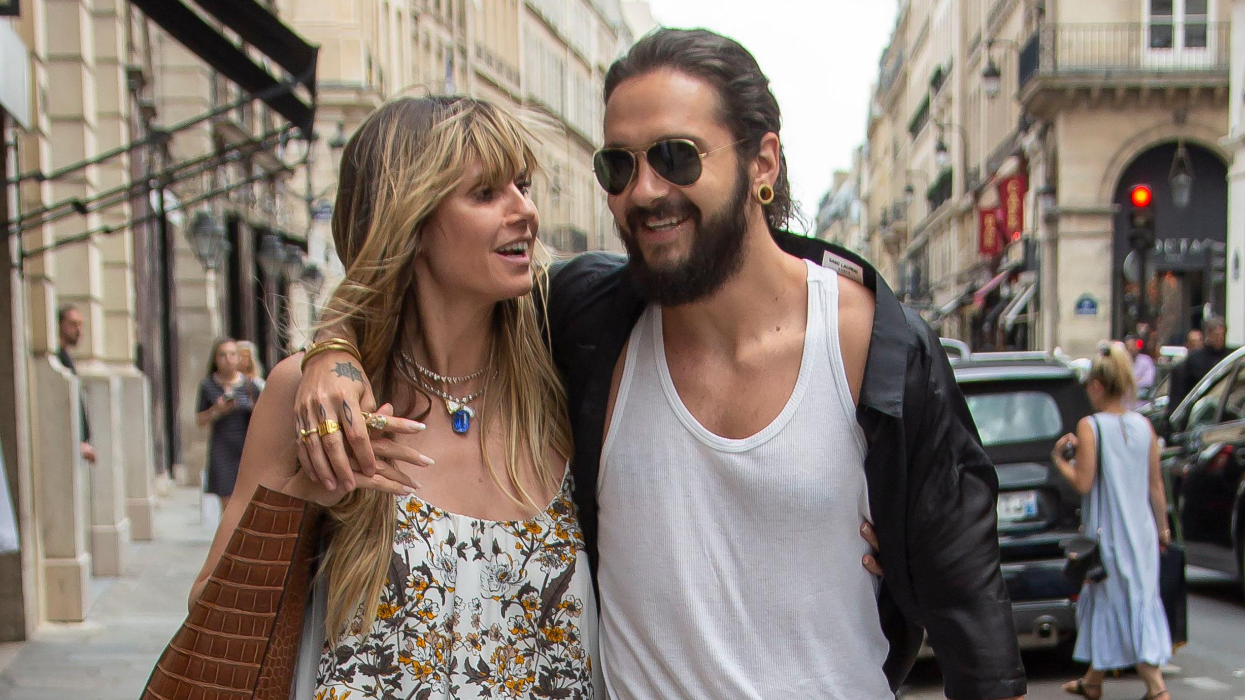 Картинки по запросу Heidi Klum Married Tom Kaulitz