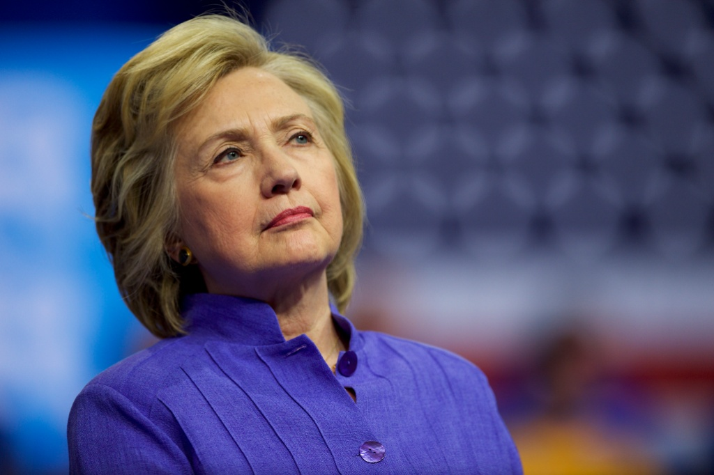 US Vice President Joe Biden Campaigns With Democratic Presidential nominee Hillary Clinton in Scranton, PA