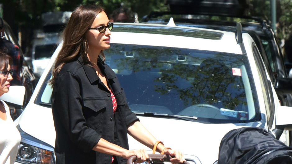 Irina Shayk and Daughter Lea in NYC on July 15, 2019