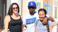 jamie-foxx-connie-kline-daughter-Annalise-Bishop-family-outing-disneyland