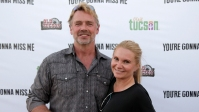 John Schneider and Alicia Allain