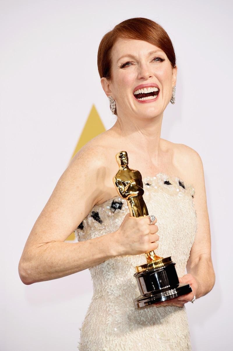 Julianne Moore wins an Oscar for 'Still Alice'