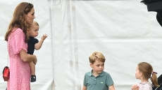 kate-middleton-prince-george-princess-charlotte-royal-family-king-power-royal-charity-polo-match