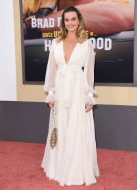 Margot Robbie at the 'Once Upon a Time in Hollywood' L.A. Premiere