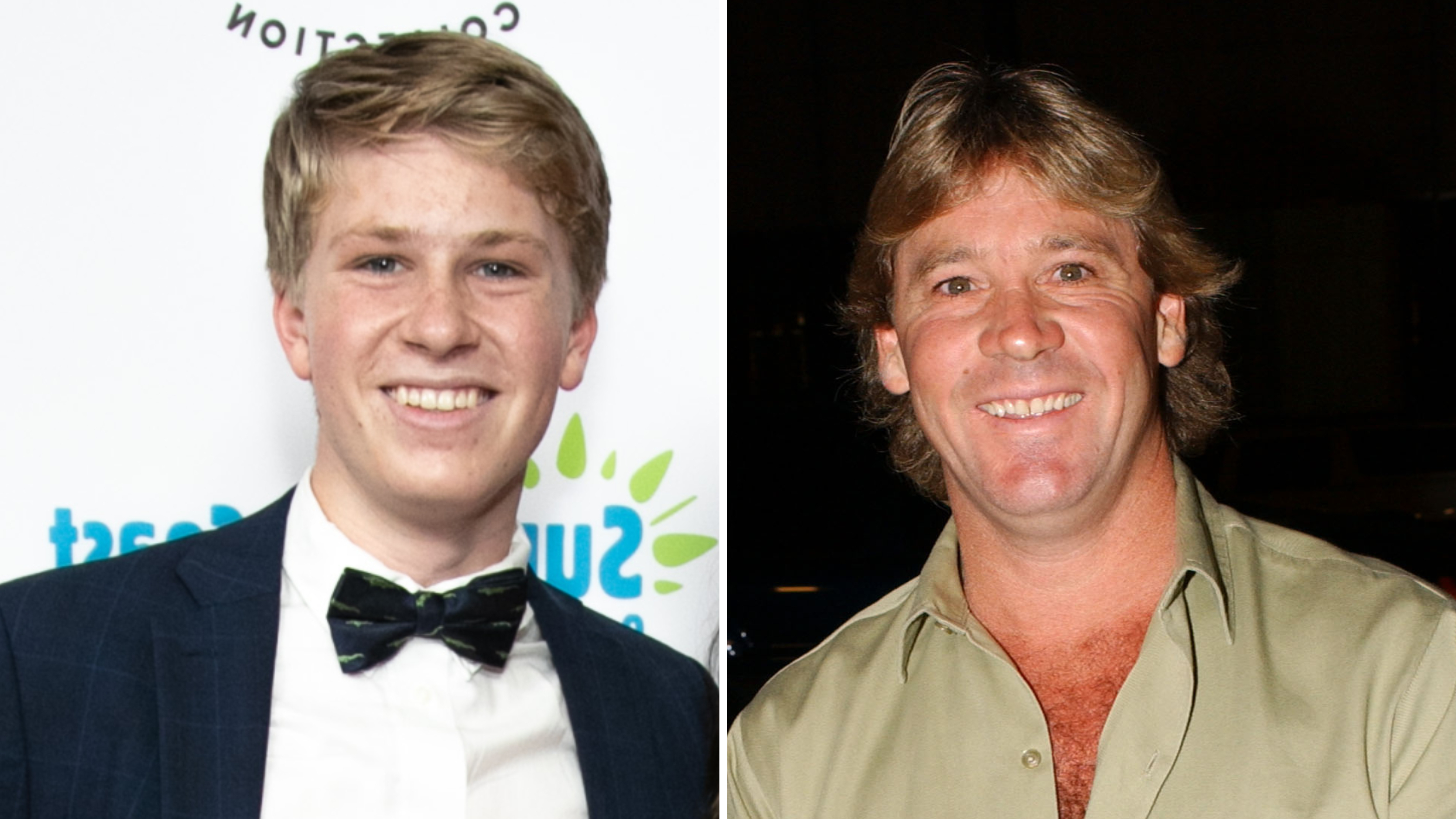 Steve Irwin And Son Robert Feed The Same Crocodile 15 Years Apart