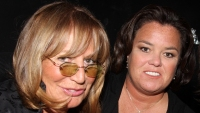 Penny Marshall and Rosie O'Donnell