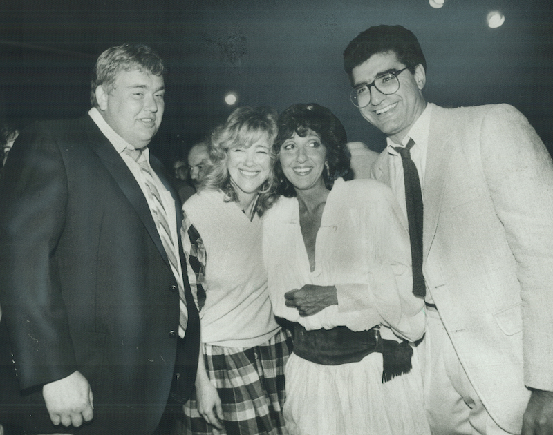 Eugene Levy and Catherine O'Hara in their Second City years
