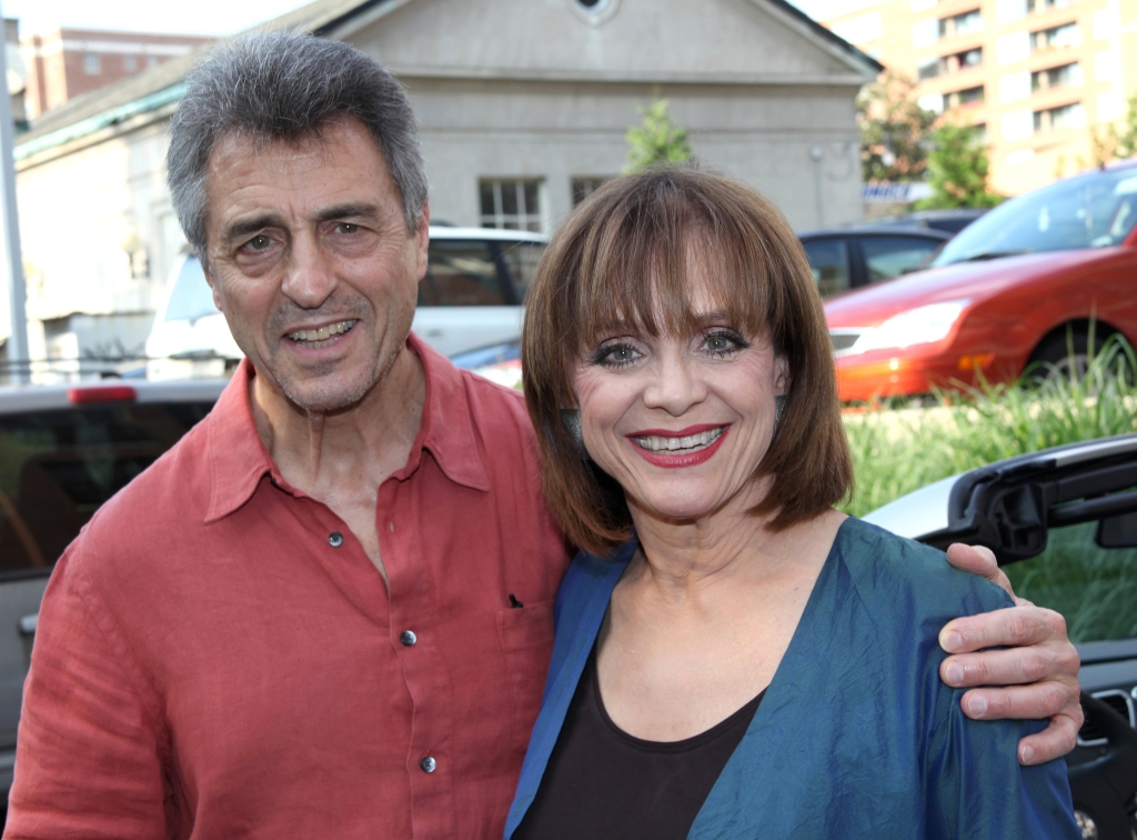 Valerie Harper and Tony Cacciotti