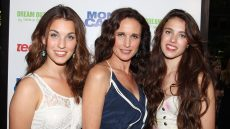 Andie MacDowell Rainey Qualley Margaret Qualley