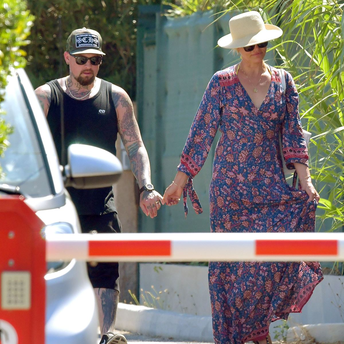 Cameron Diaz and Husband Benji Madden Take Romantic Stroll in Rare Public Outing — See the Pics!