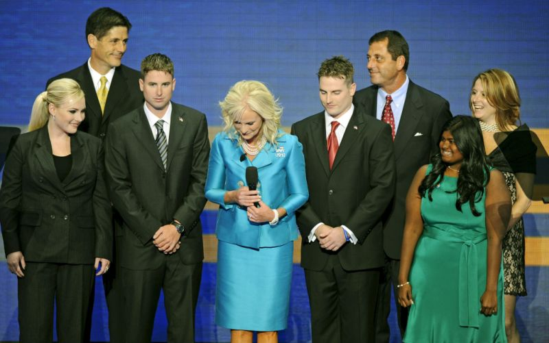 John McCain Cindy McCain Family