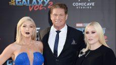 David Hasselhoff Taylor Ann Hasselhoff, Hayley Hasselhoff