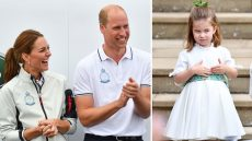 Kate Middleton Prince William Princess Charlotte