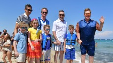 Elton John and Neil Patrick Harris Go on Joint Family Vacation to France — See the Pics!