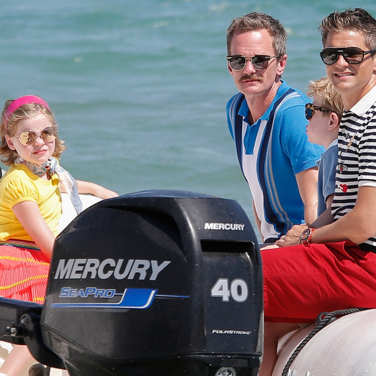 Elton John and Neil Patrick Harris' Families Vacation in France: Pics