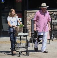 Nick Nolte and daughter Sophie