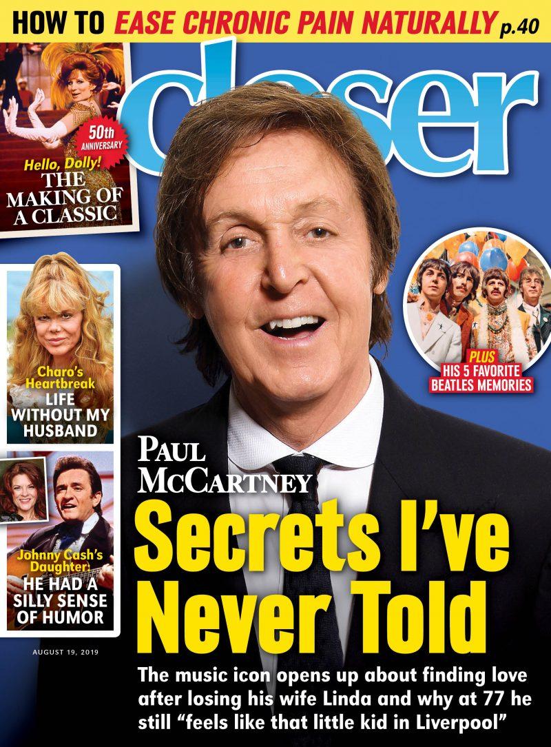 Paul McCartney 'Closer Weekly' Cover
