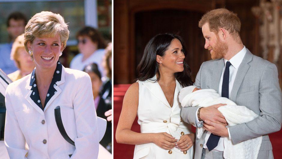 Princess Diana Meghan Markle Prince Harry