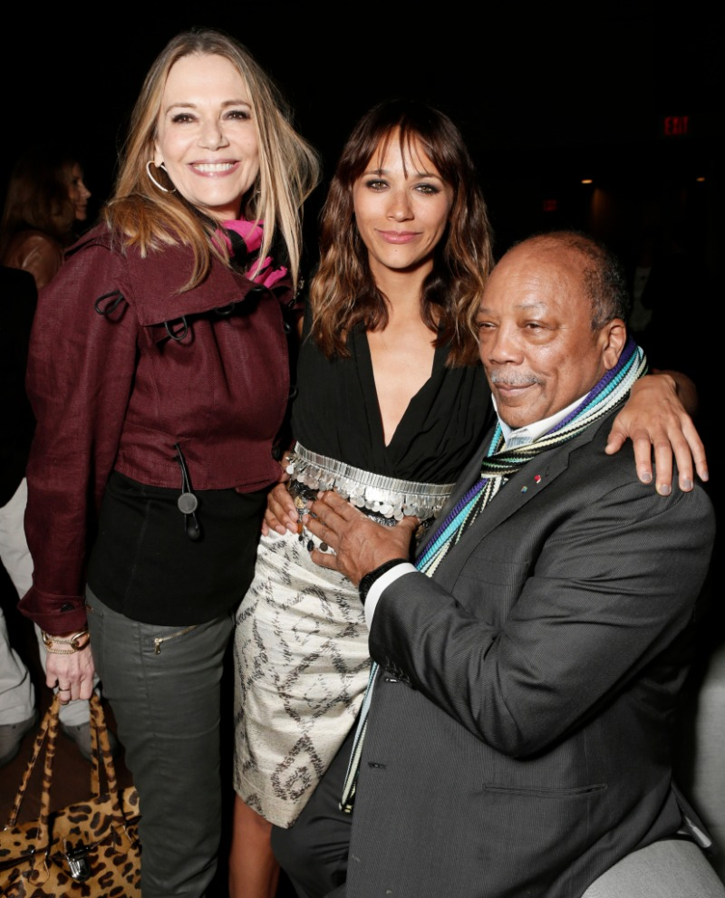 Peggy lipton Quincy Jones rashida jones