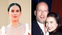 Rumer Willis Demi Moore Bruce Willis