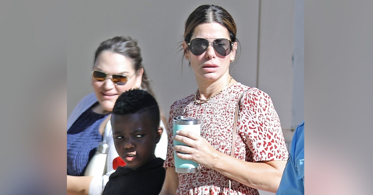 Sandra Bullock And Son Louis Spotted Out In Los Angeles Photo