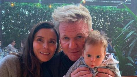 Gordon Ramsay Hits the Beach With Son Oscar in Adorable Snap — Take a Look!
