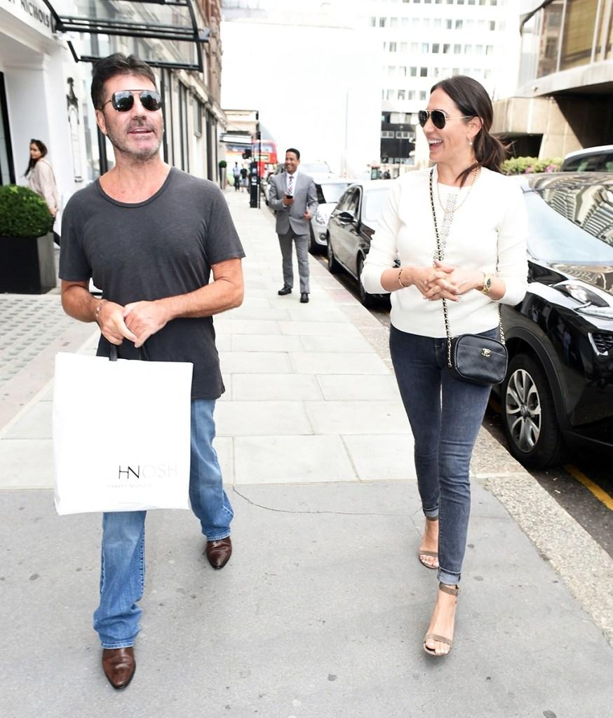 Simon Cowell intimate Lauren