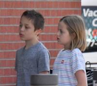 Vivienne and Knox Jolie-Pitt