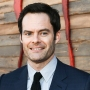 Bill Hader Wearing a Navy Suit at the L.A. Premiere of 'IT Chapter Two'