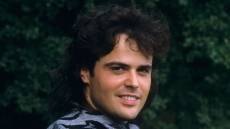 Donny Osmond Poses for a Photo in 1987