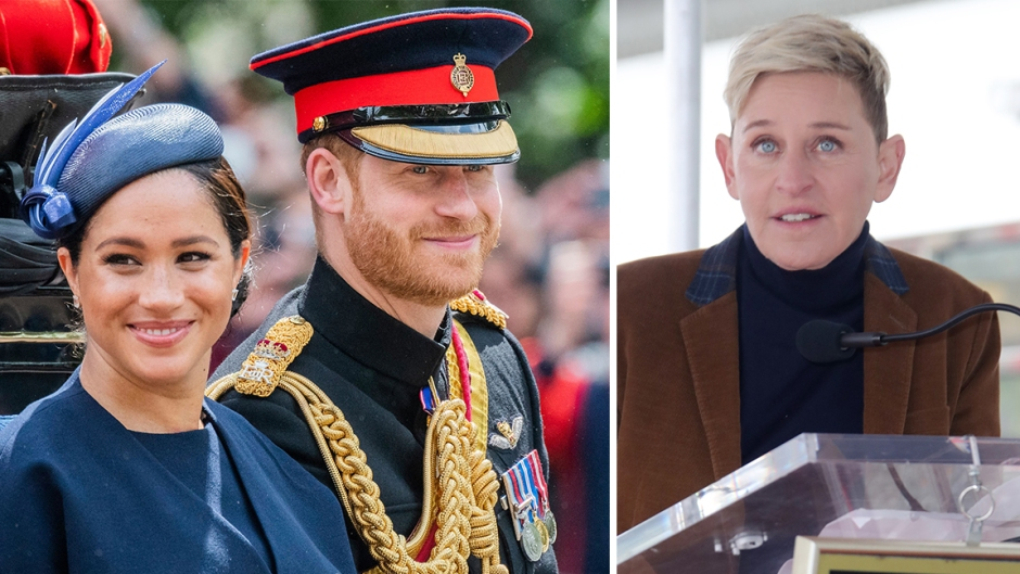 Ellen DeGeneres defends Prince Harry and Meghan Markle amid private jet controversy