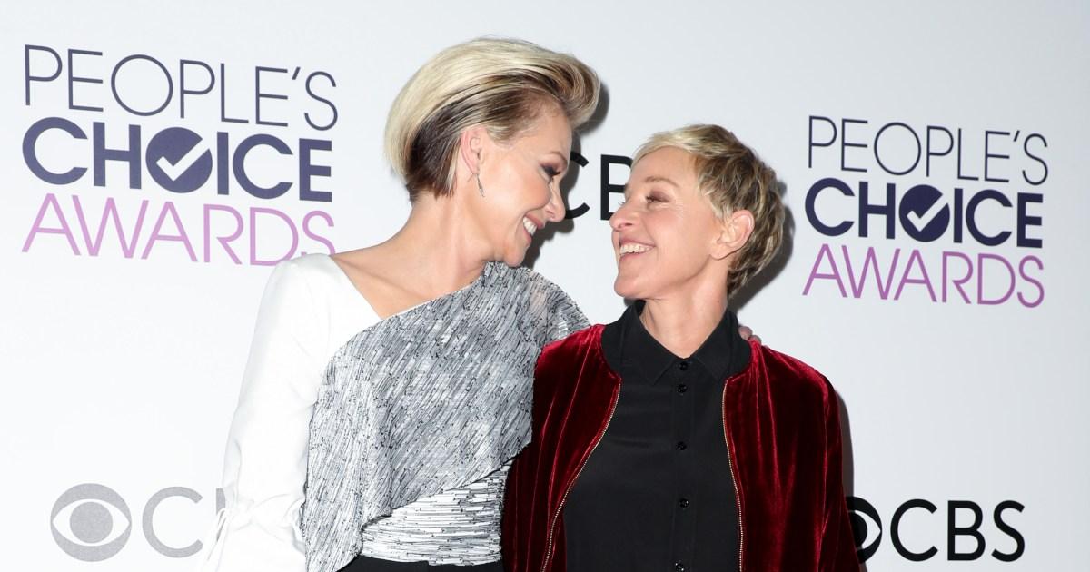 Ellen And Portia Wedding.Ellen Degeneres Portia De Rossi Honor 11th Wedding Anniversary