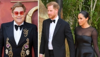Elton John Defends Prince Harry and Meghan Markle for Taking Private Jet
