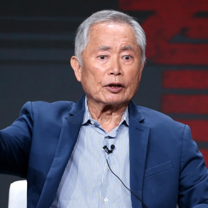 George Takei at the TCA 2019 Panel for AMC's 'The Terror: Infamy'