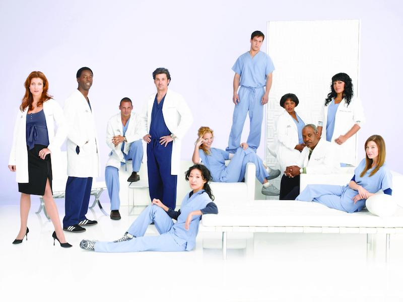 'Grey's Anatomy' season 3 Cast