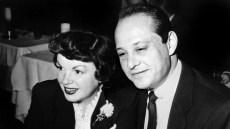 Judy Garland and Sid Luft