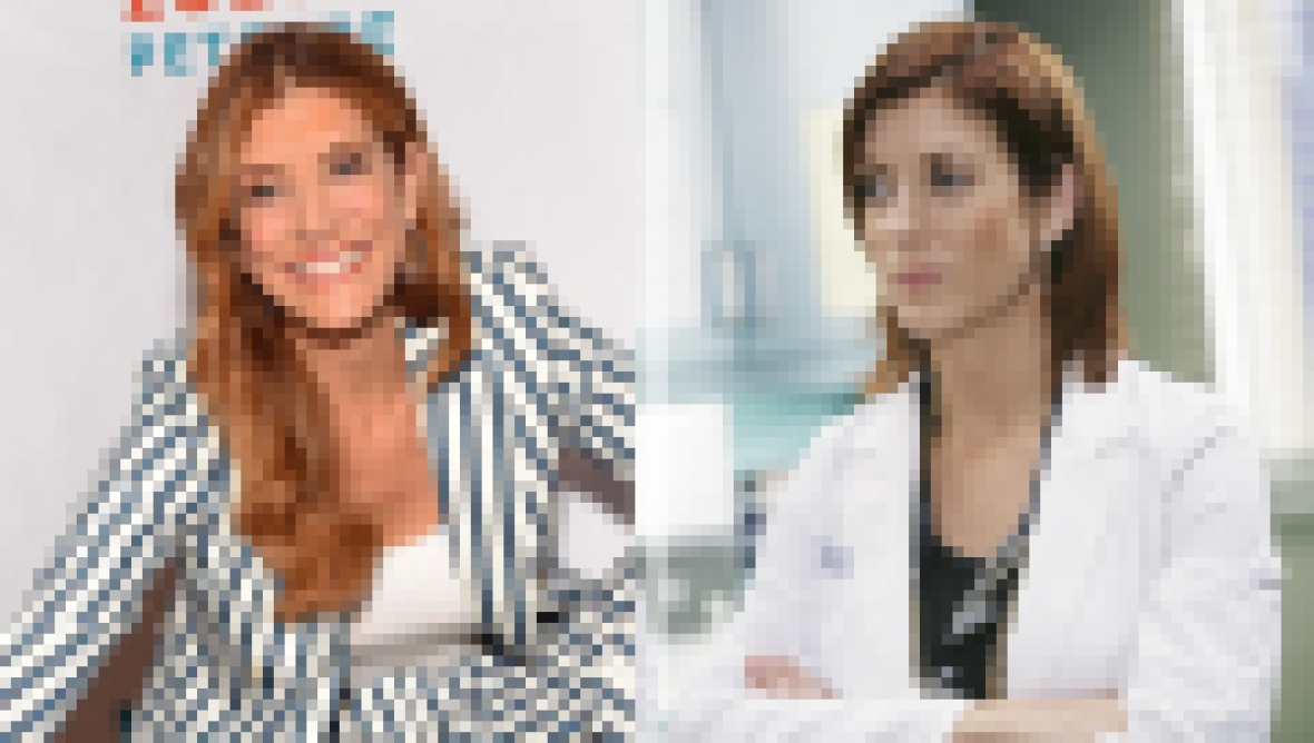 Kate Walsh then and now