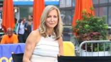Lara Spencer on Good Morning America in July 2019
