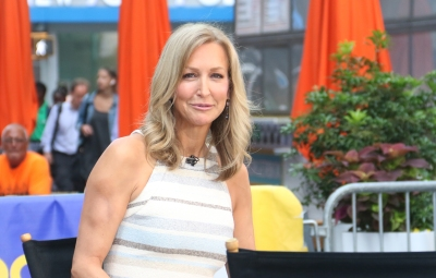 Lara Spencer on Good Morning America in July 2019