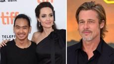 Maddox Jolie-Pitt, Angelina Jolie and Brad Pitt