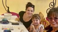 Marie Osmond, daughter Rachael Krueger, granddaughter Rocket Jade