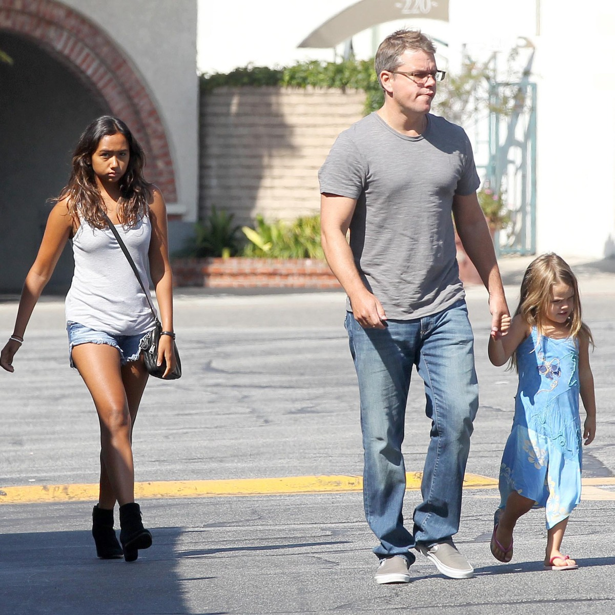 Matt Damon Daughters: Meet the Actor's 4 Kids With Luciana Barroso