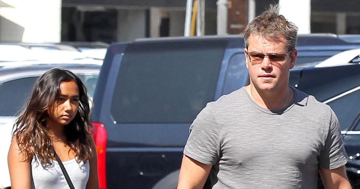 Matt Damon's Daughter Alexia Had Coronavirus But Recovered ...