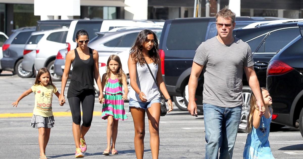 Matt Damon Kinder