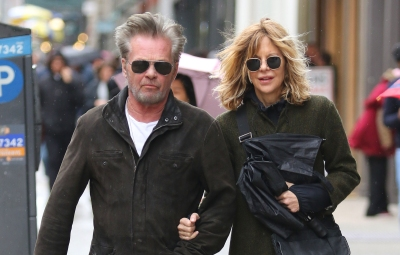Meg Ryan and John Mellencamp