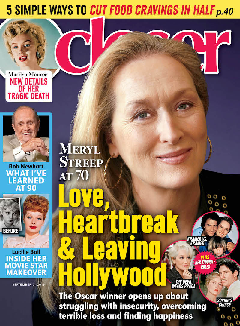Meryl Streep's 'Closer Weekly' Cover